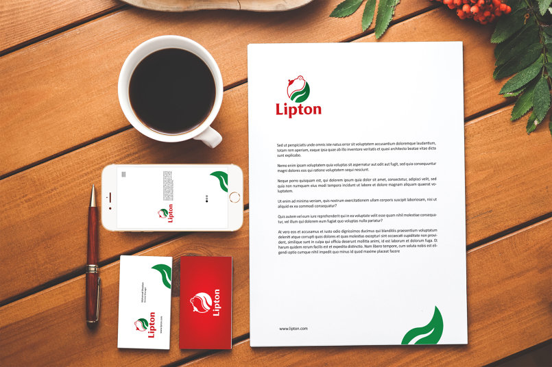 Lipton Tea Branding