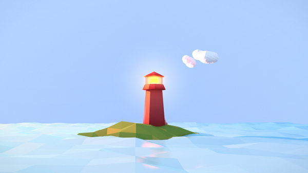 Low Poly Lighthouse