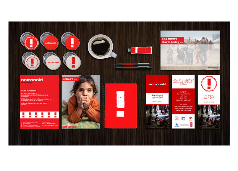 ActionAid Stationary