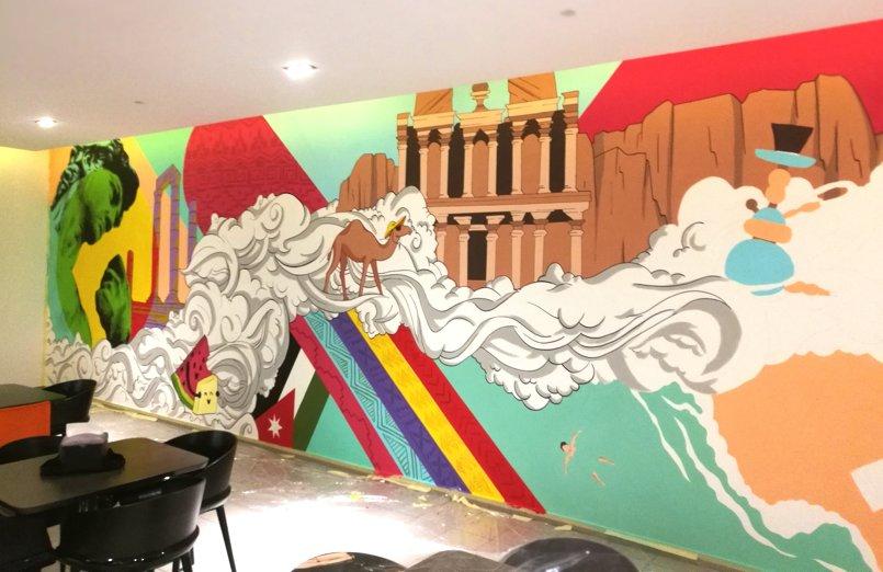مشروع لفندق W Amman بمساحة 110 متر مربع
