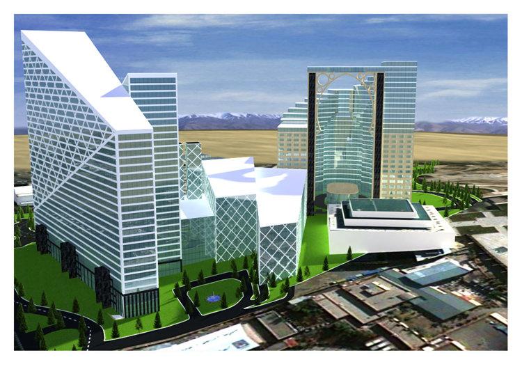 Exterior rendering, 3dsmax 2012, Vray 2