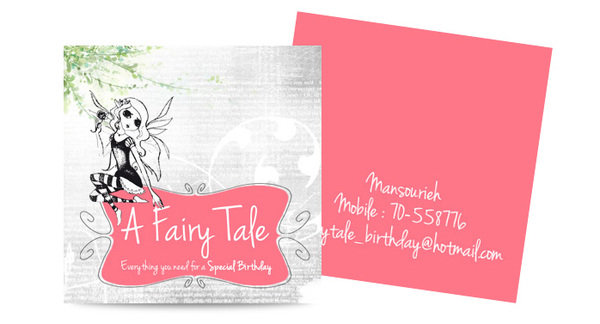 A Fairy Tale - Birthday Organiser