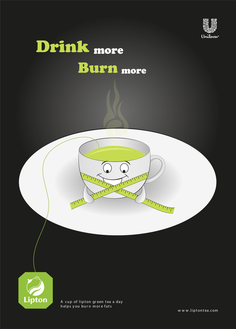Lipton Green Tea Poster