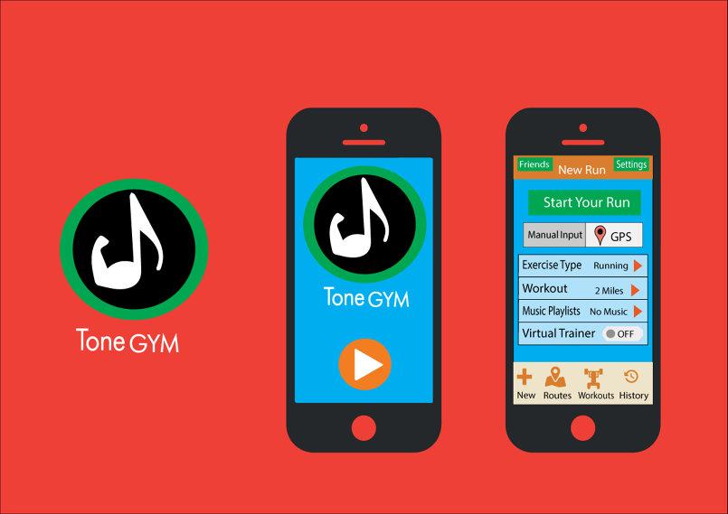 Tone GYm Interface App