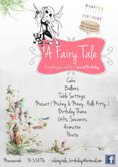 A Fairy Tale - Birthday Organiser