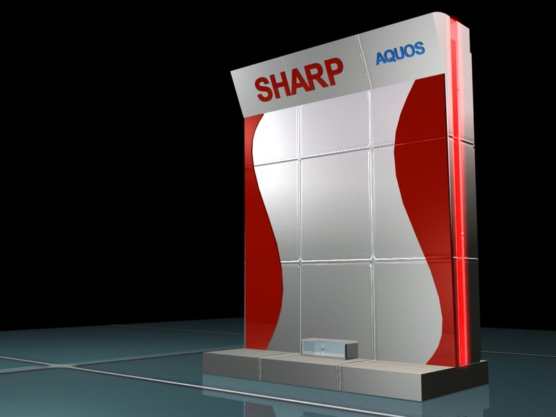 Sharp Booth