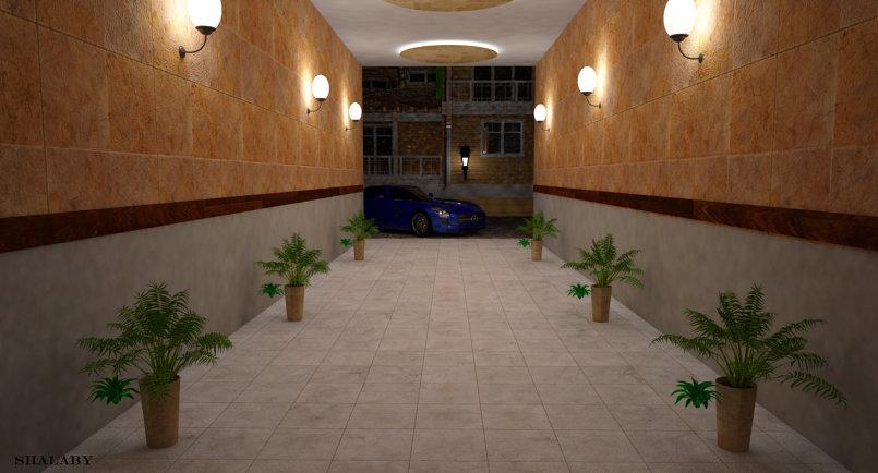 مدخل سكني