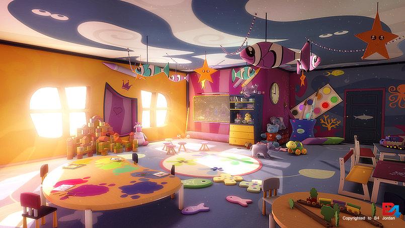 3D kindergarten