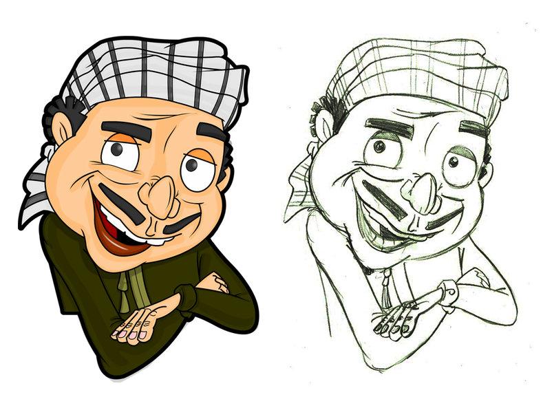 2D Cartoon Characters