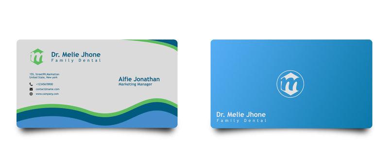 تصميم بطاقات العمل
