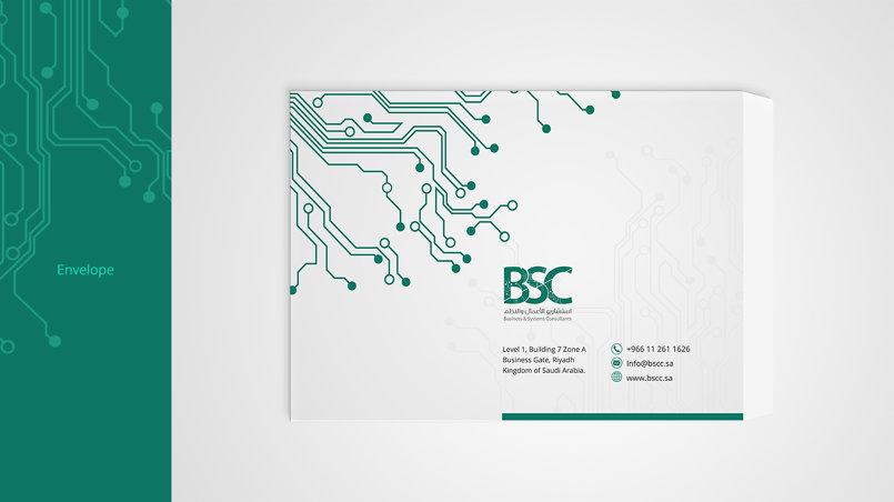 هوية لشركة BSC