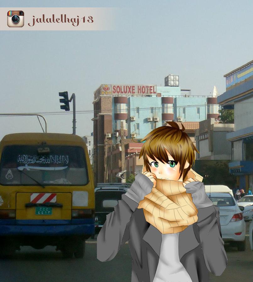 انمي في الشارع السوداني
