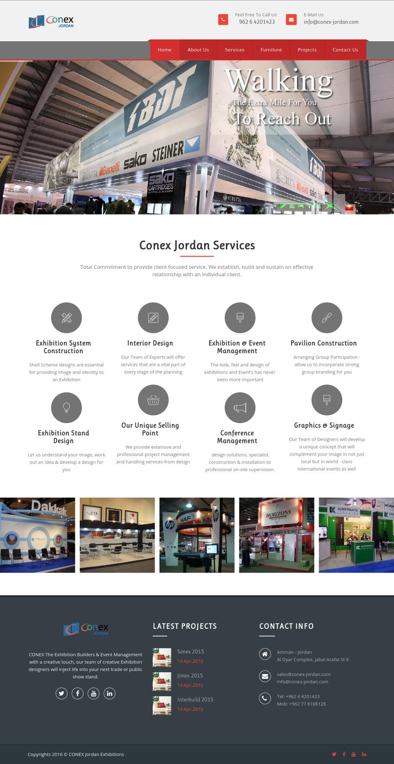 Conex Jordan 2016