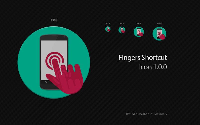 أيقونة تطبيق Finger Shortcut