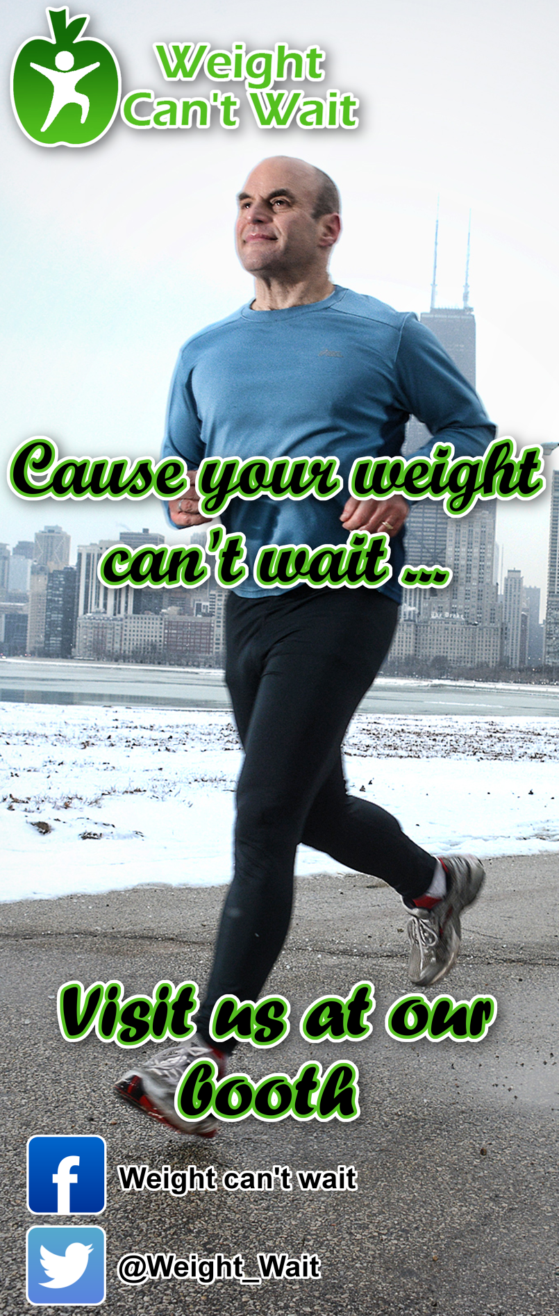 Weight Can't Wait Banner