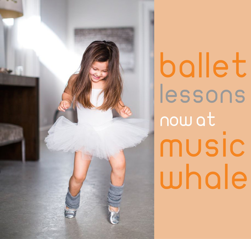 Ballet Lessons.  Music Whale