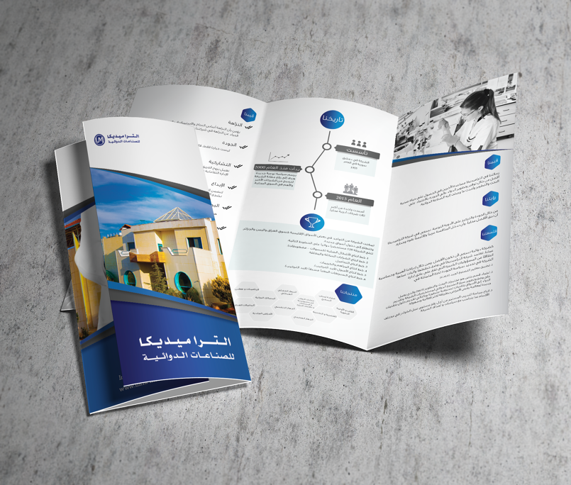 Pharmaceutical Industry Company Brochure & Posters