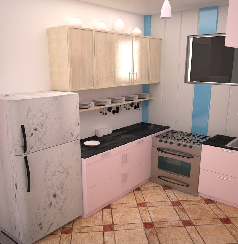 kitchen first render