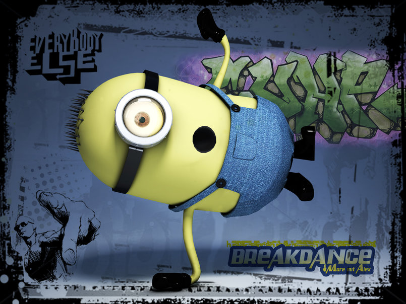 Despicable breakdance