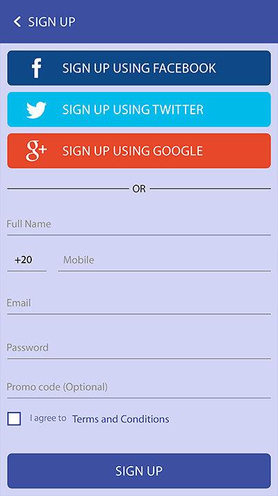 Tawsily Mobile App