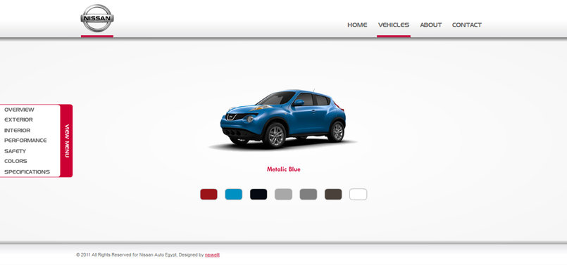 Vehicle - Colors Module