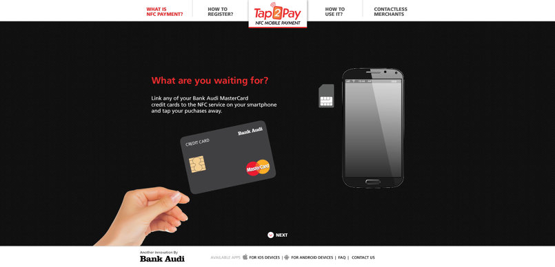 Tap2Pay Website Design