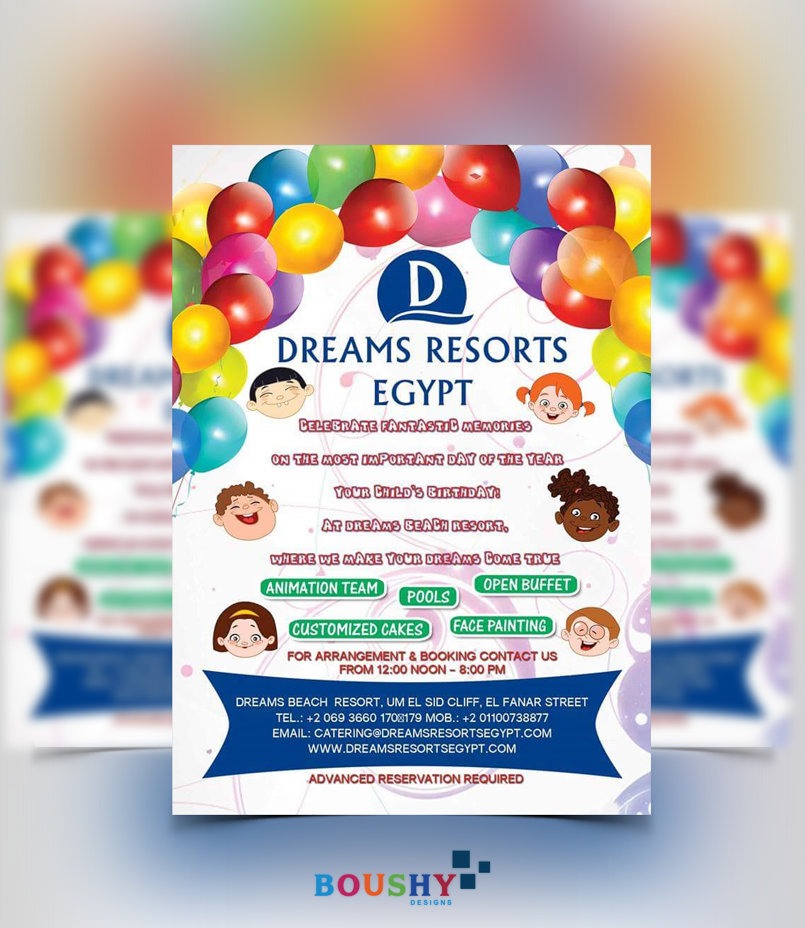 Dreams Resort Flyer