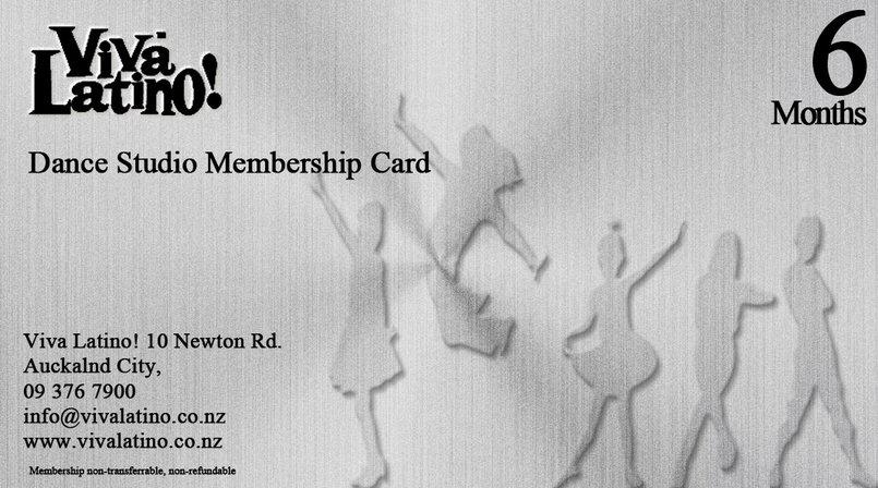 Membership Dance Card