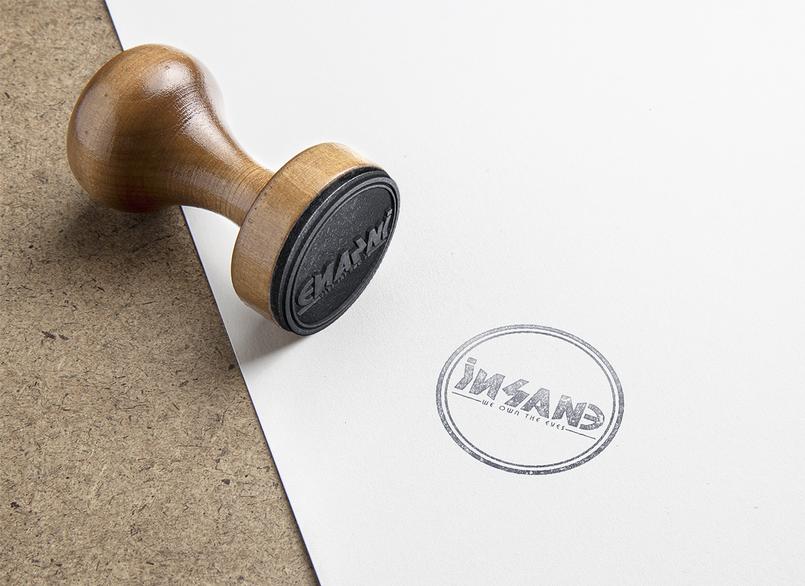 iNSANE Stamp.