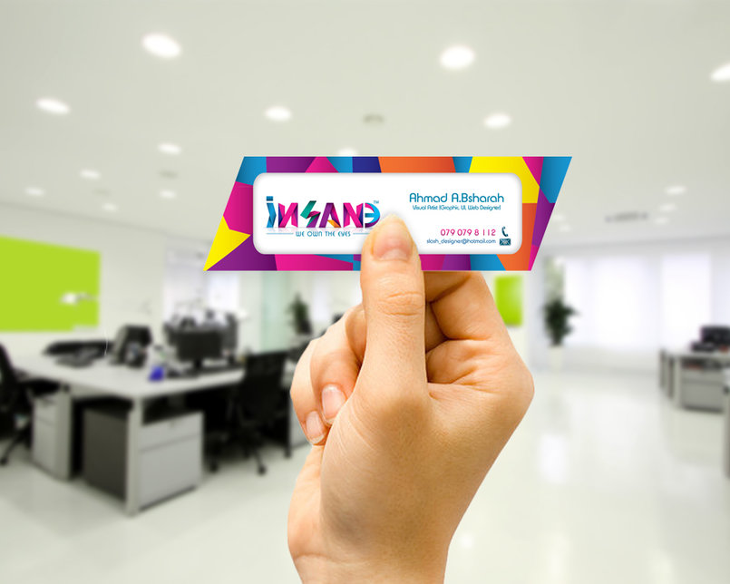 iNSANE Business card.