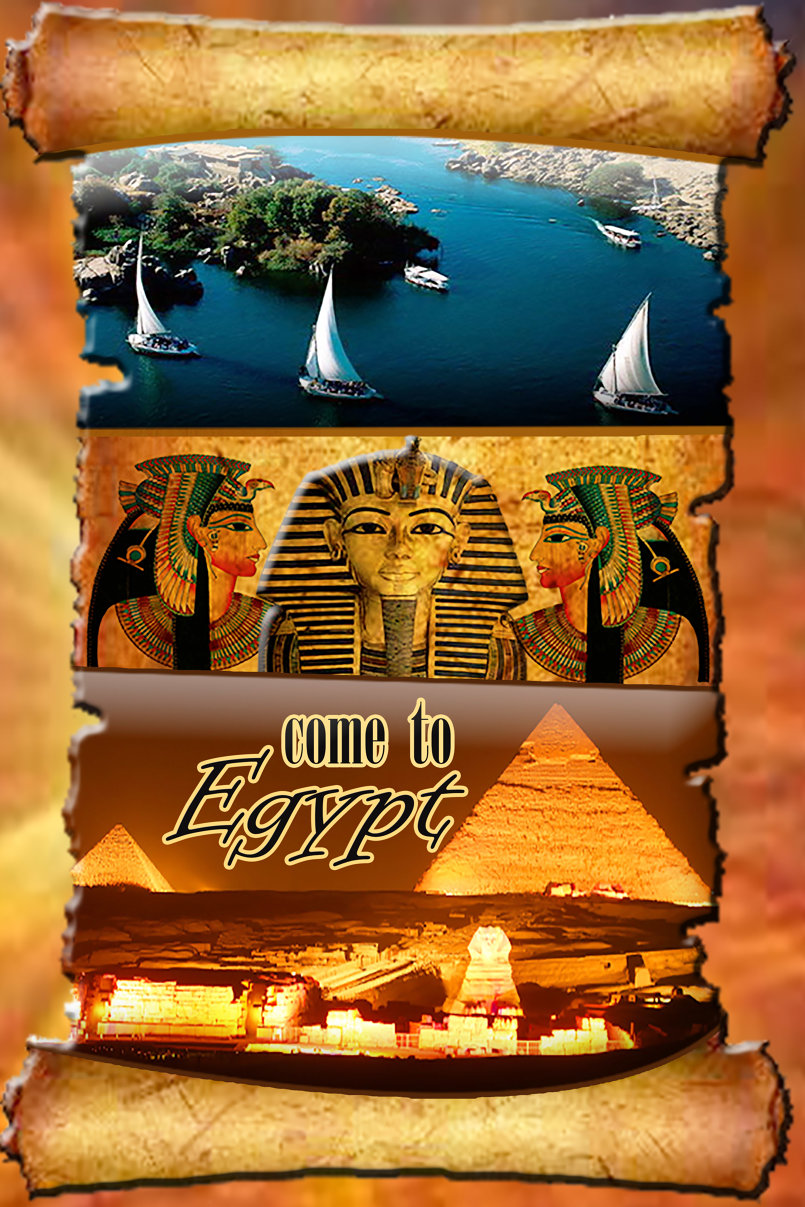 تصميم بوستر لجذب السياحة الى مصر