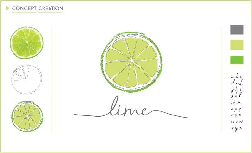 Lime: Logo creation & branding