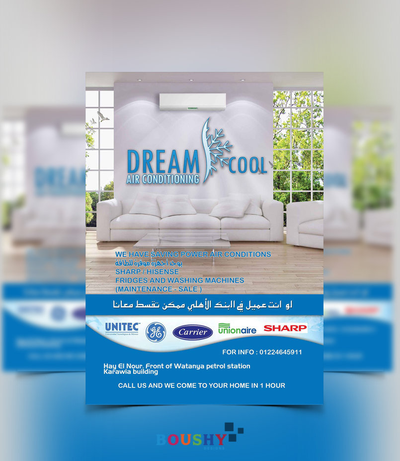 Dream Cool Air Conditioner Shop Flyer