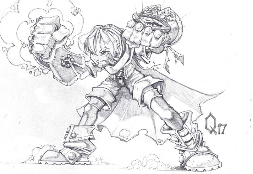gully from battle chasers