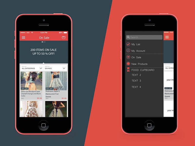 Store app Ui IOS8