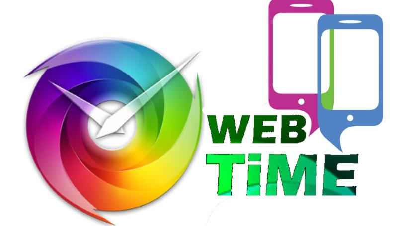 تصميم لشعار  مدونة  ويب تايم