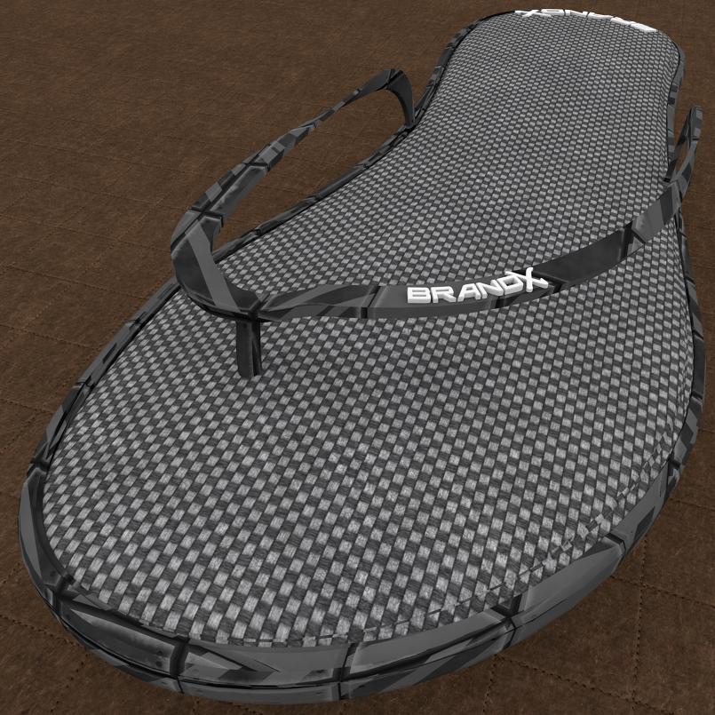 Design sandale 3D