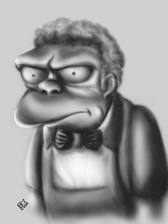 Simpsons characters - digital Art