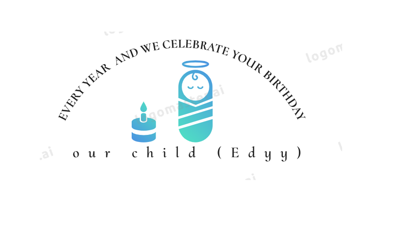تصميم لتوزيعات للمولود