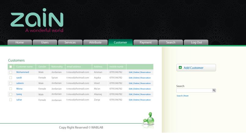 Zain Webdesign