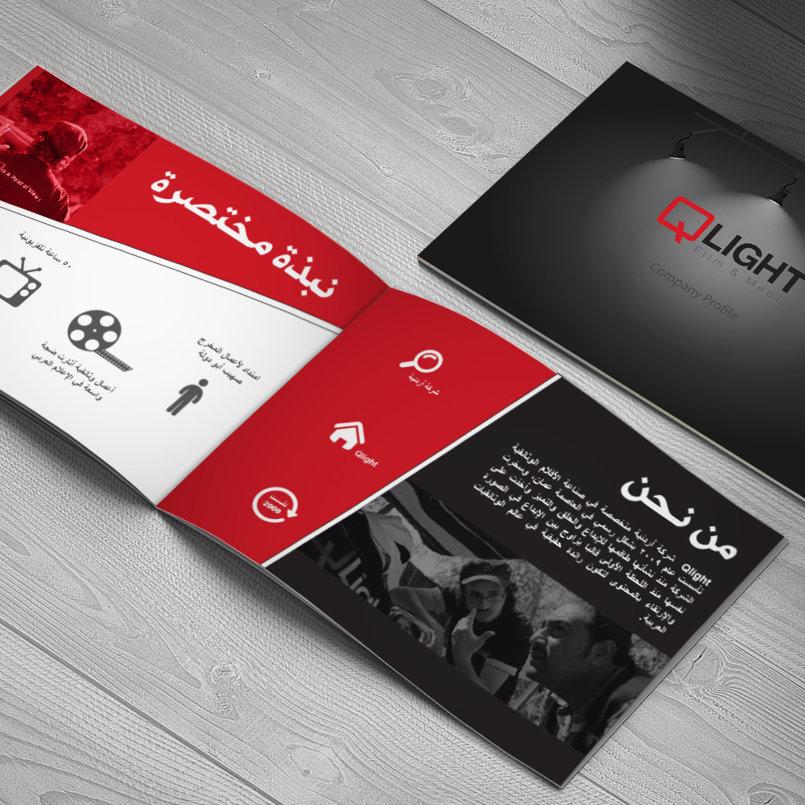 Company profile & Booklet for Qlight company