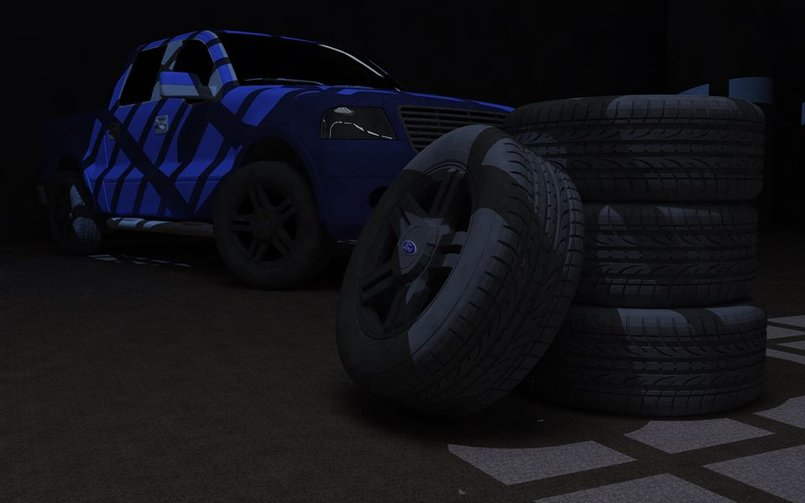 Ford F150 and tires