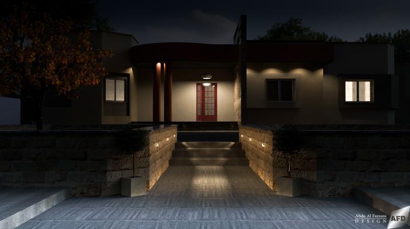 تصميم واجهة منزل