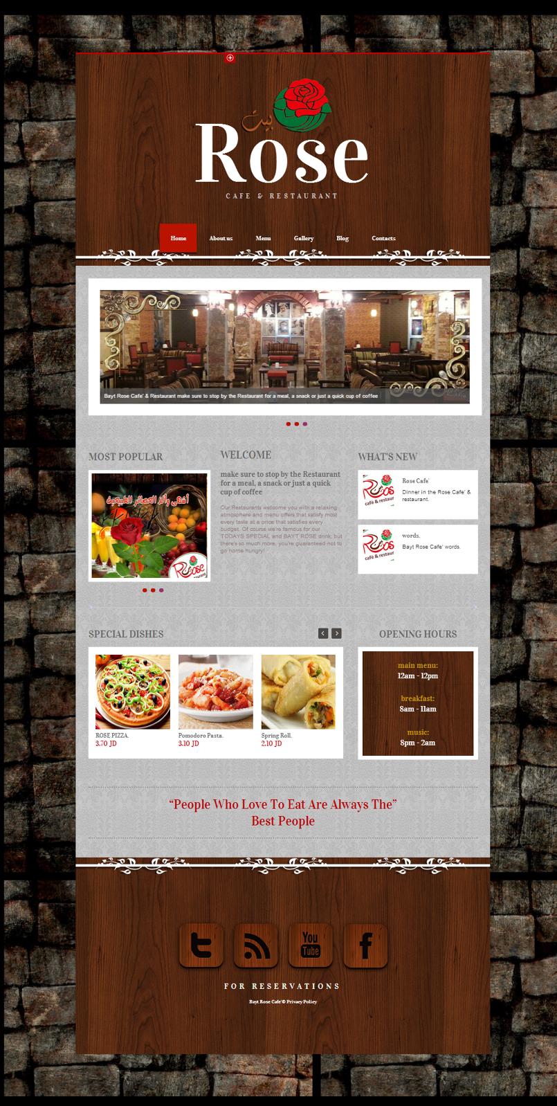Bayt Rose Cafe & Restaurant