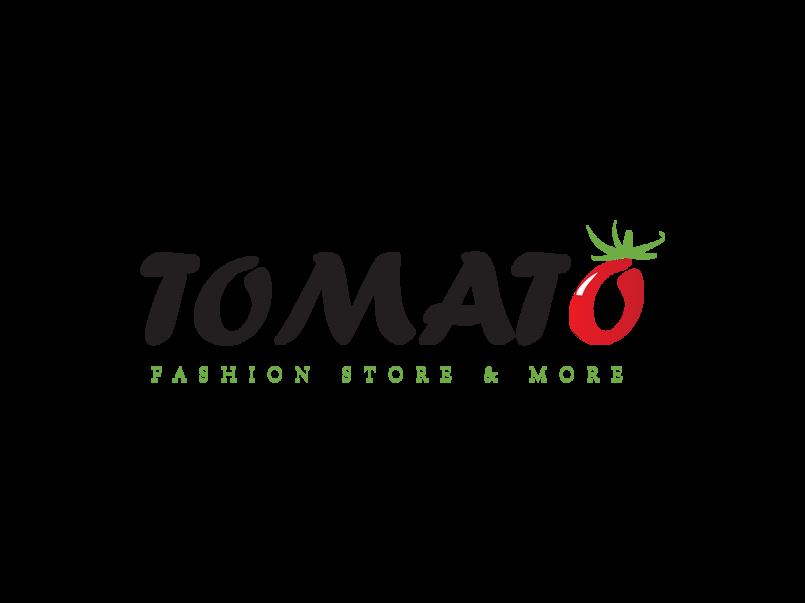لوجو لصفحه tomato لبيع ملابس الرجالى
