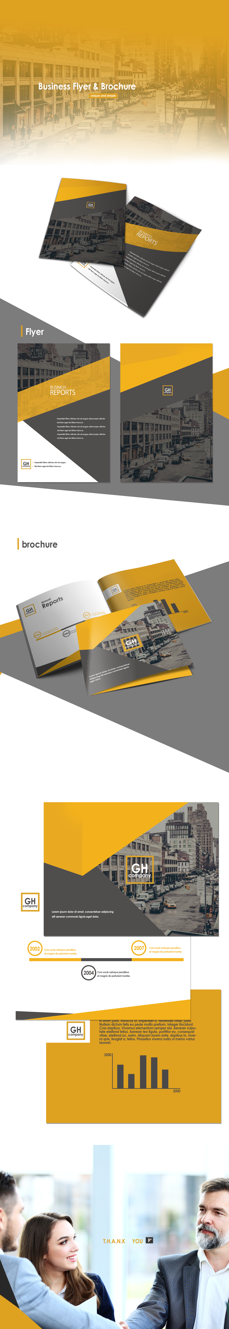 Business flyer and brochure