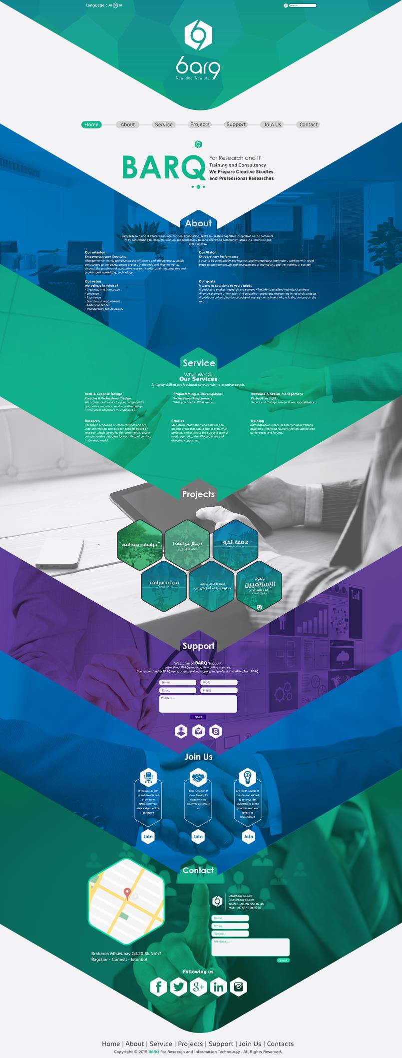 BARQ Web Design