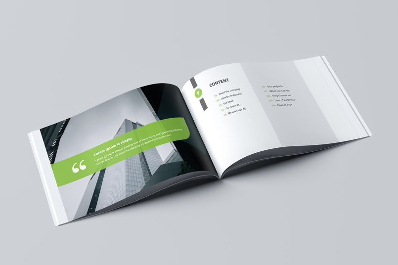 Corporate Business Brochure 01