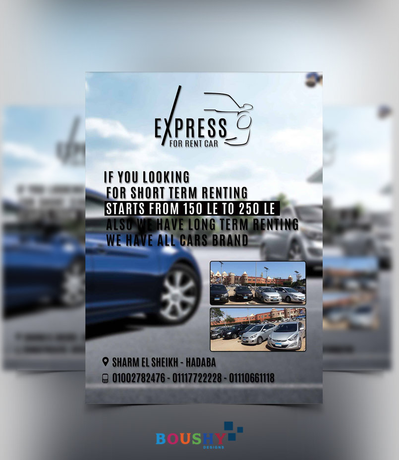 Express Car Rent Flyer