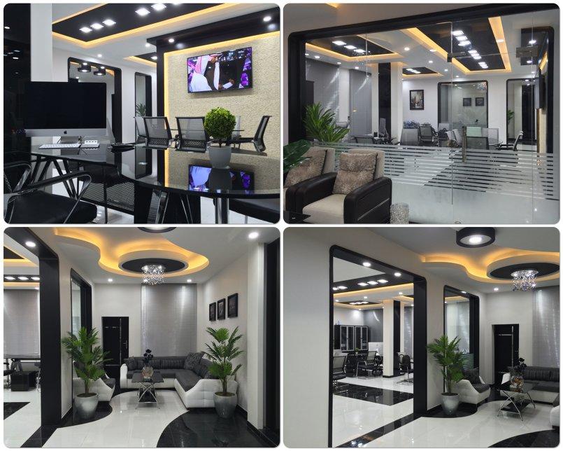 تصميم وتنفيذ داخلي لمقر شركة مقاولات بمدينة صنعاء